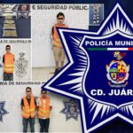 Agentes municipales en diferentes intervenciones detienen a cuatro presuntos narcomenudistas